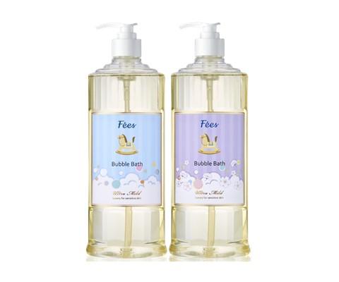 【Fees法緻】嬰兒柔護泡泡露+嬰兒柔護洗髮沐浴精-棉花香