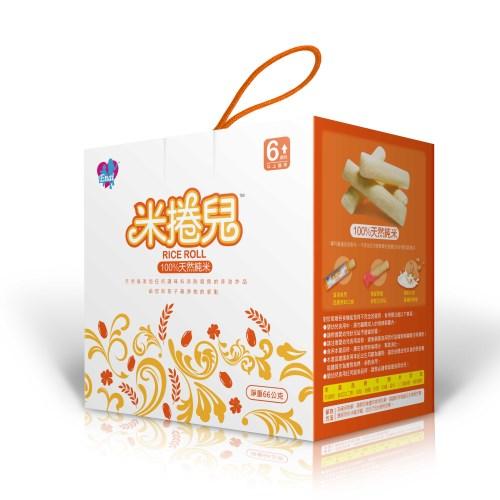 米捲兒(100%天然純米+有機藜麥)寶寶米餅