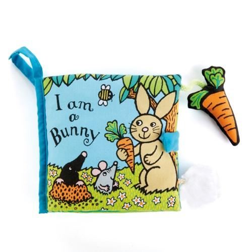 英國 JELLYCAT 感官刺激布書 - I am a Bunny 兔子書
