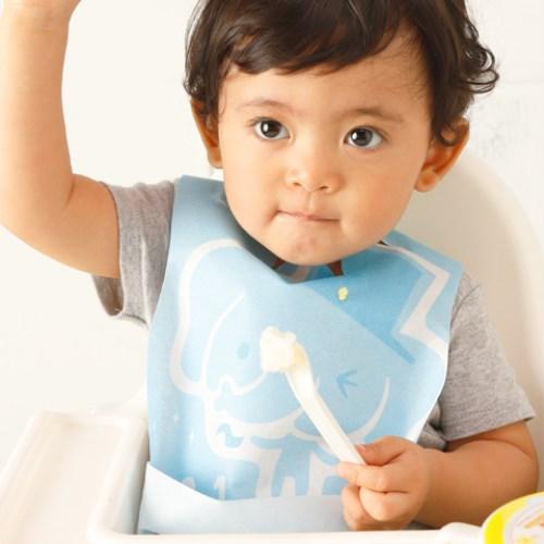 Lullmini Floret 嬰幼童拋棄型圍兜 - 魔術象 量販包(30入)