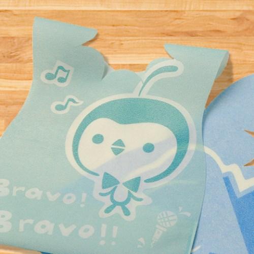 (Q萌)Lullmini Floret 嬰幼童拋棄型圍兜 - 樂企鵝 (6入)