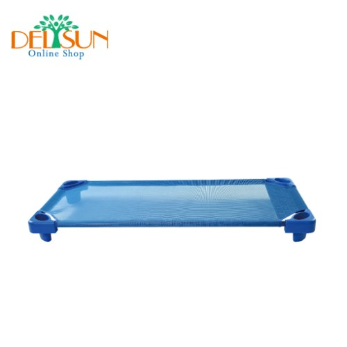[DELSUN 8901-1] 兒童簡易睡床 大張 藍色 網布睡床 寵物 DIY 台灣製造 安檢