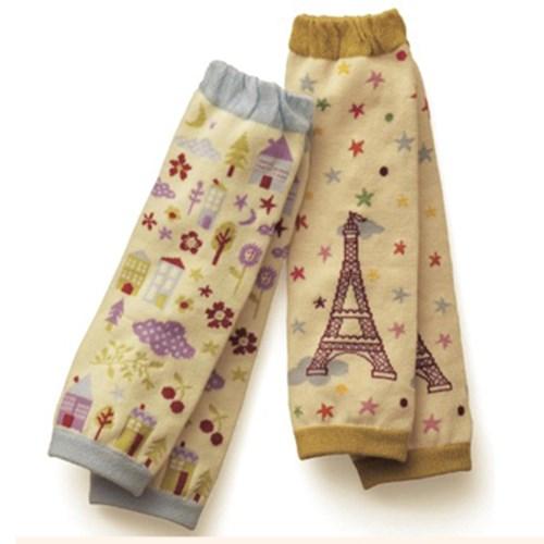 【三雙入】寶寶純棉保暖護膝襪套 三雙入 (A款)