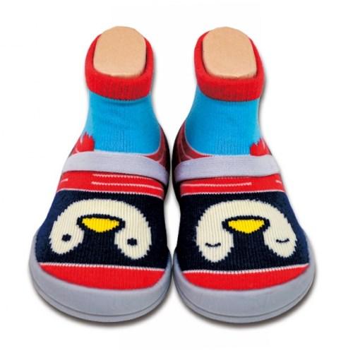 Feebees襪鞋 編織款系列_帕可小王子 Penguin Paco