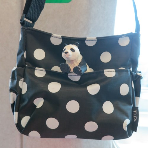 TiDi 時尚點點親子迷你側背包