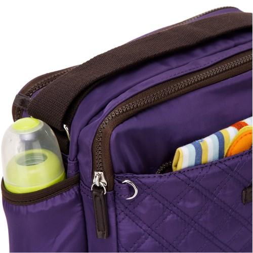 Colorland 高雅格紋空氣多功能斜背媽媽包- 2款式