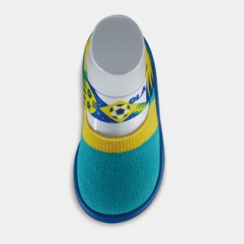 【Feebees襪鞋】酷涼系列 • 旗幟派_熱情森巴