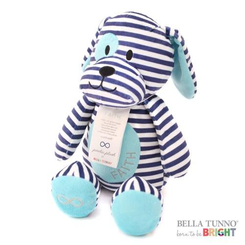美國 Bella Tunno 絨毛祝福娃娃 (信心小狗)