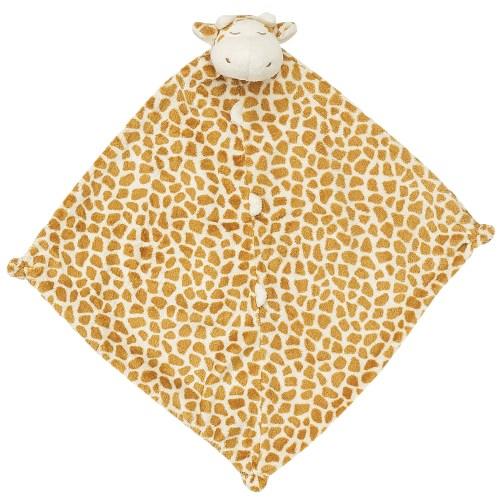 美國 Angel Dear 動物嬰兒安撫巾禮盒 (棕色長頸鹿)