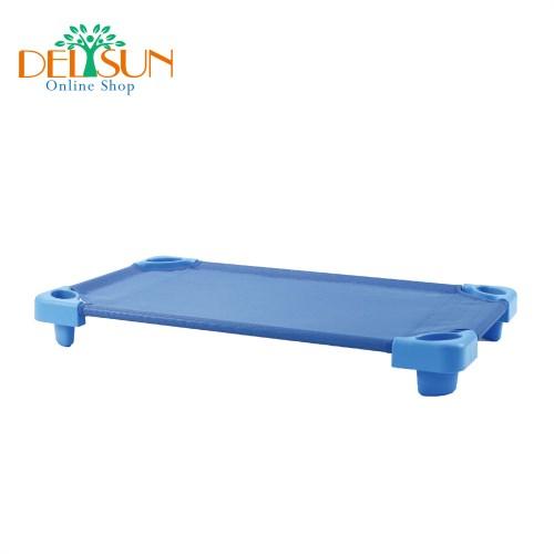 DELSUN 兒童簡易藍色大睡床 睡床網布[DELSUN 8901N]