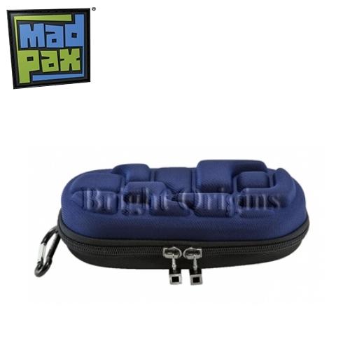 MadPax時尚造型鉛筆盒(深藍)
