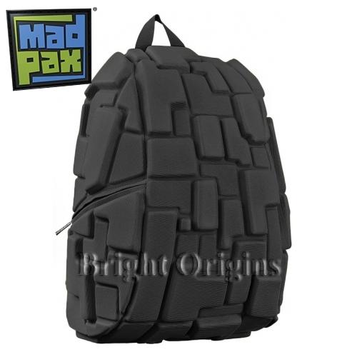 MadPax時尚造型包-積木包-大包(黑色)