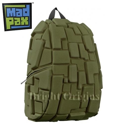 MadPax時尚造型包-積木包-大包(綠色)