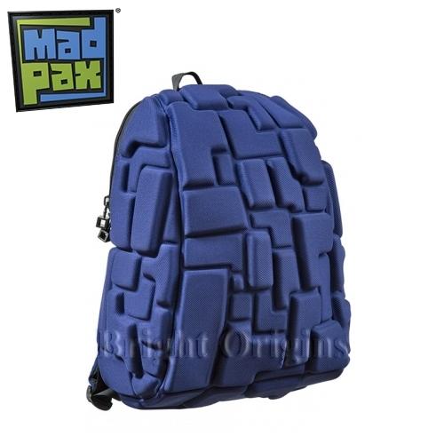 MadPax時尚造型包-積木包-中包(深藍)