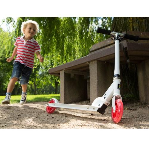 德國KETTLER-Zero 5 時尚親子滑板車-旋風紅