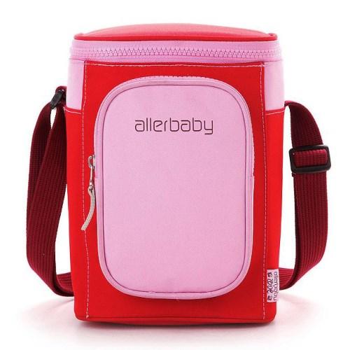 德國Allerbaby雙口袋肩背母乳保冷袋+防水內袋