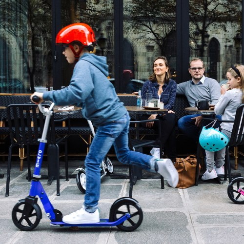 瑞士 Micro Cruiser 哈雷款兒童滑板車(二輪)