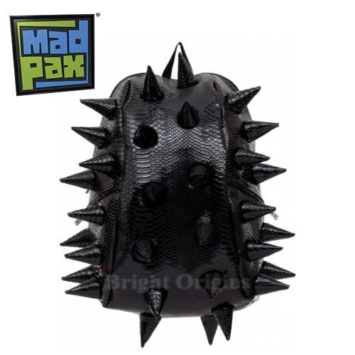 MadPax時尚造型包-奢華鱷魚刺蝟包-大包(黑色)