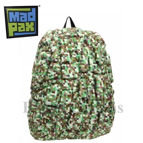 MadPax時尚造型包-積木包-大包(綠樂高)