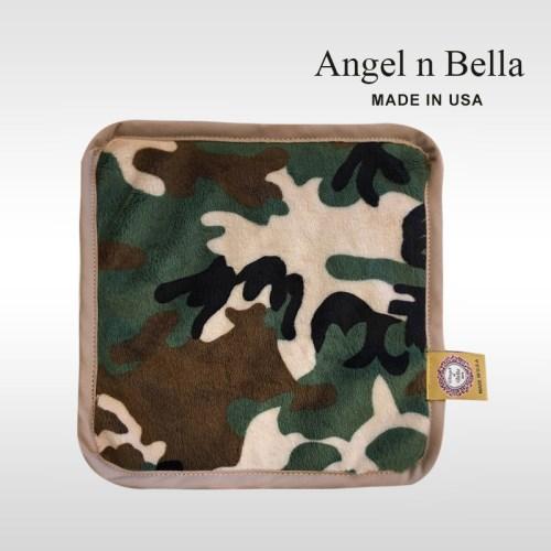 【美國製】Angel n Bella經典圖紋手帕-經典迷彩