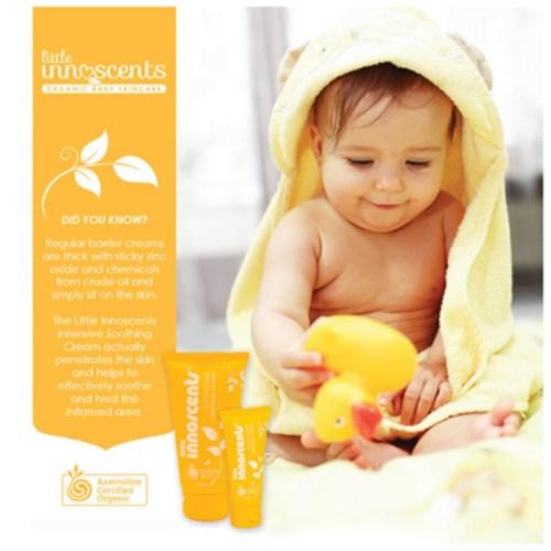 嬰樂香Little Innoscents修護舒緩霜 - ACO有機認證87%