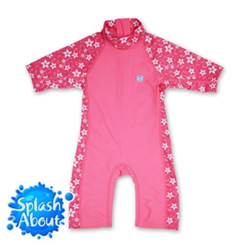 《Splash About 潑寶》Toddler UV Suit兒童抗UV連身泳衣 - 陽光櫻花