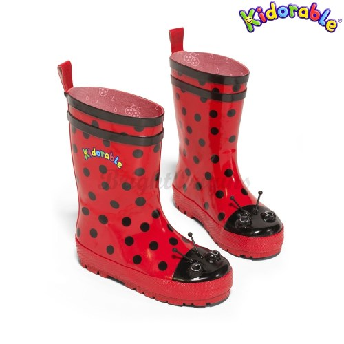 美國Kidorable 童趣雨鞋 瓢蟲款