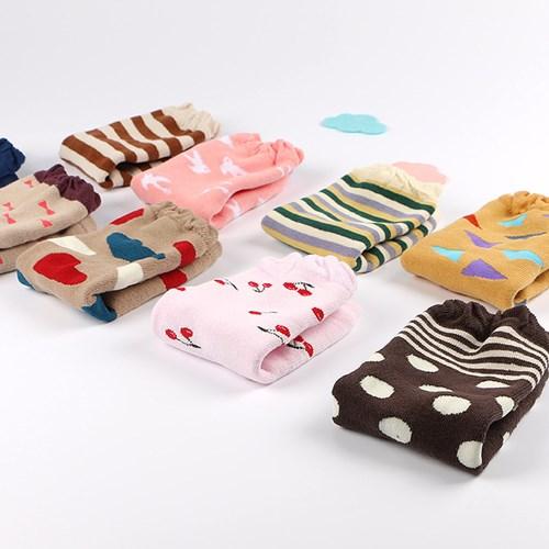 【四雙入】寶寶純棉保暖護膝襪套 爬行襪