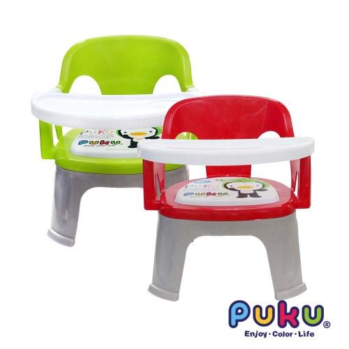 PUKU Crocodile小鱷魚可拆餐盤BB椅(紅色/綠色)