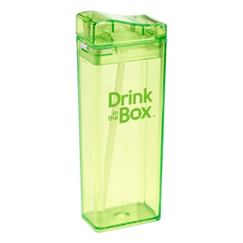 Drink in the box Tritan兒童運動吸管杯(大)-果凍綠