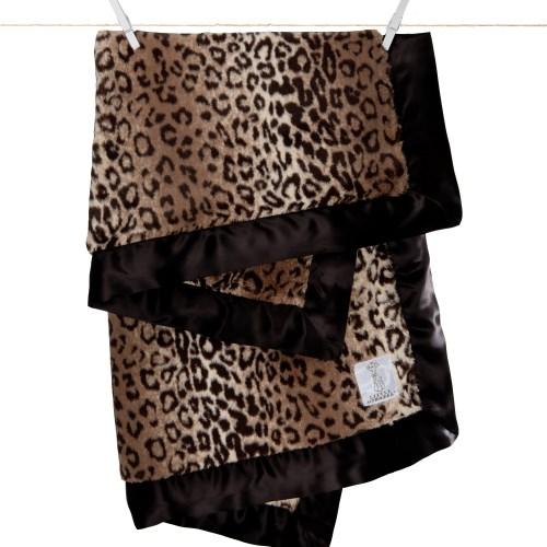 Little Giraffe 嬰兒被毯 - Luxe Leopard Blanket