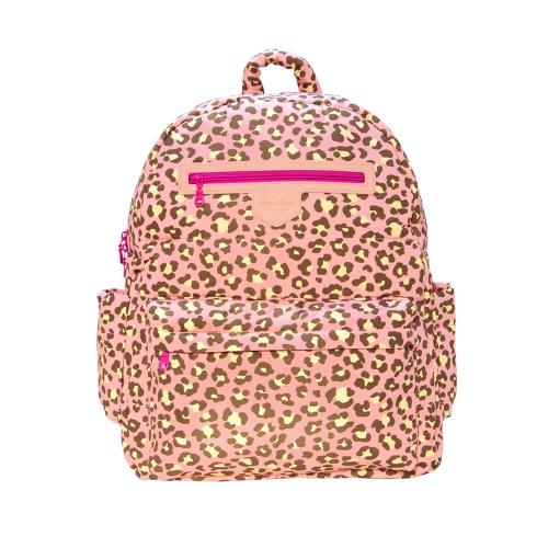 HanaBene花花班尼 經典極輕量-空氣包媽媽包大型後背包(粉紅豹紋)