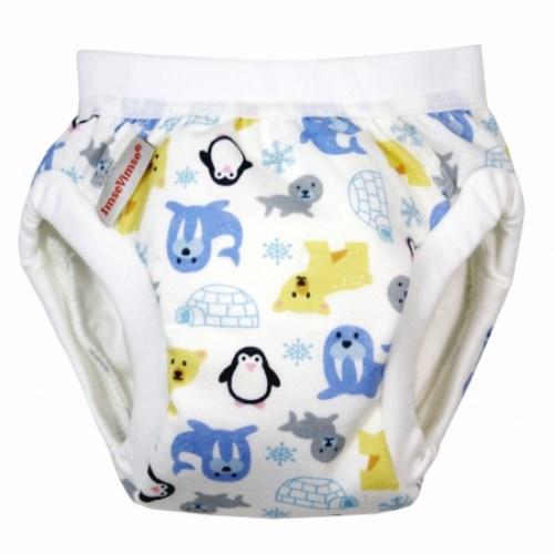 瑞典ImseVimse幼兒有機棉訓練褲(極地探險)
