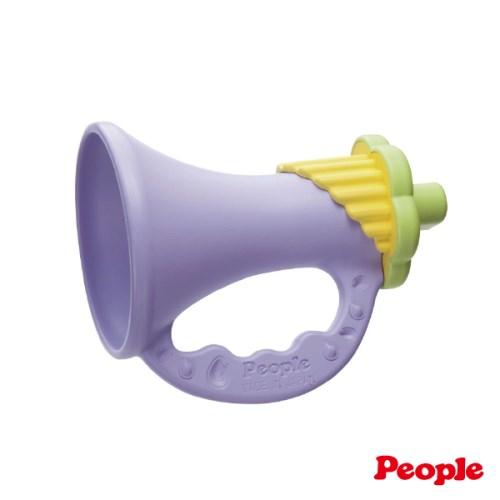 【日本People】新彩色米的喇叭咬舔玩具-日本製
