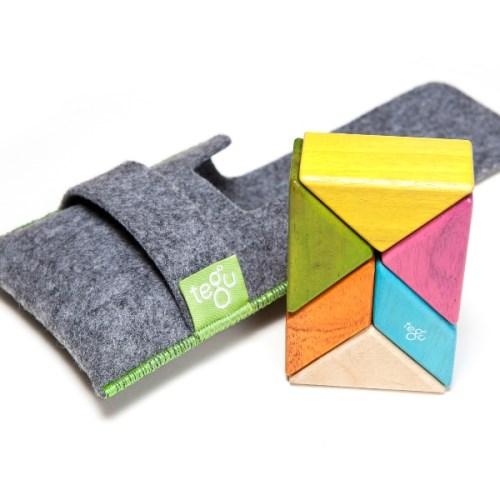 Tegu磁性積木 - 6件式口袋組 (調色盤)
