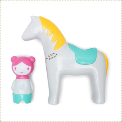 美國 Kid O嬰幼兒玩具-Myland聲光-小馬駕駕