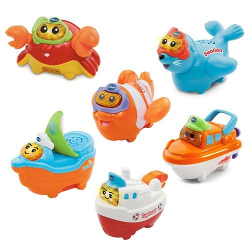 Vtech 2合1嘟嘟戲水洗澡玩具系列(多款可愛任選)