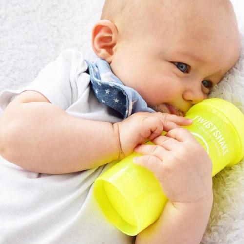 ⟪Twistshake⟫瑞典時尚彩虹奶瓶 - 180ml S奶嘴口徑0.3mm (多款可選)