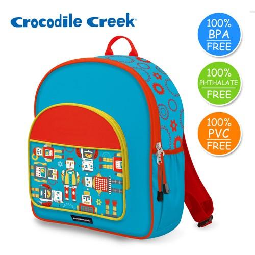 美國Crocodile Creek Go Kids兒童造型背包-機器人世界