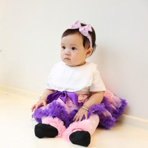 日安朵朵 女嬰童雪紡蓬蓬裙 - 葛麗特