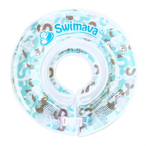 G1 Swimava淺藍迷彩嬰兒游泳脖圈