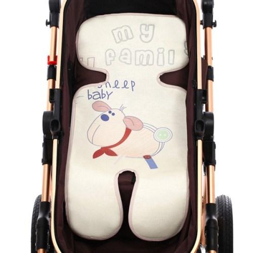 嬰兒推車冰絲涼蓆-嬰兒車涼墊坐墊