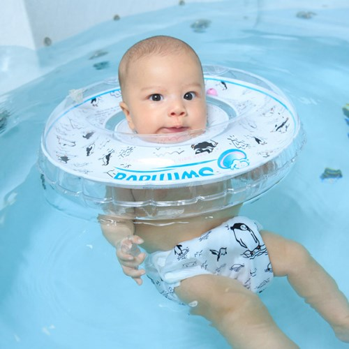 G1+S1 Swimava嬰兒游泳脖圈+尿褲套裝組-(共15款可選)