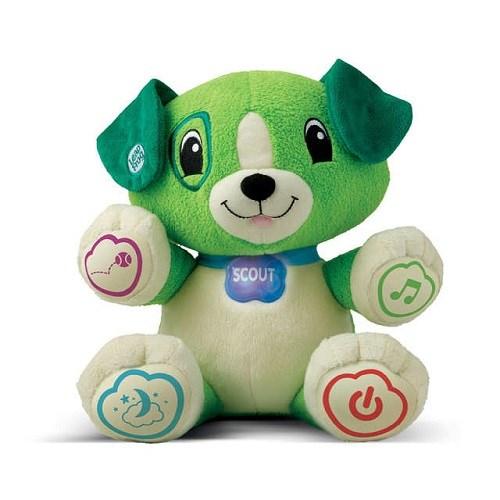 【LeapFrog】-我的寶貝狗-SCOUT(綠)