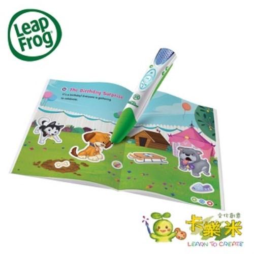 【LeapFrog】-全英電子閱讀筆書籍-(可愛動物貼紙故事書)