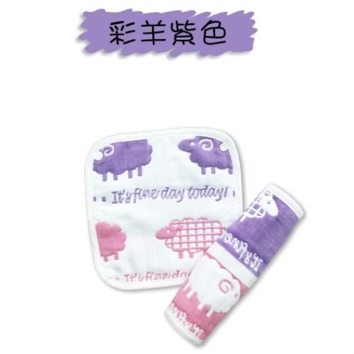 【JOYNA】八層棉質紗高密度背巾口水巾-四條入