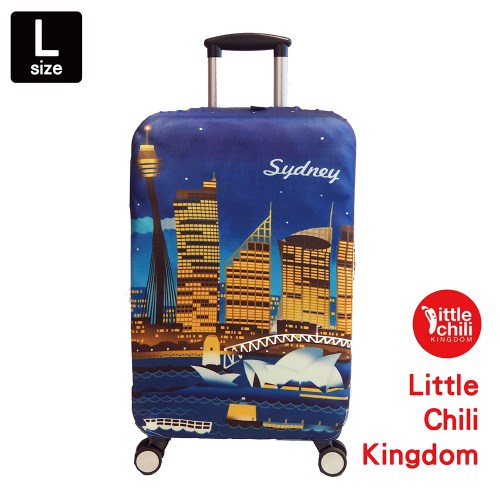 LittleChili行李箱套B003-雪梨 L