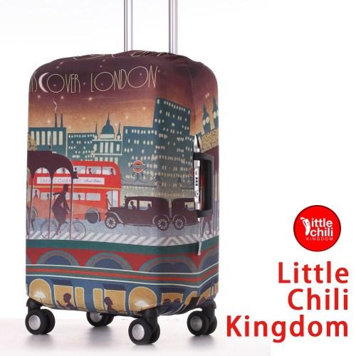 LittleChili行李箱套套532-倫敦彩 L