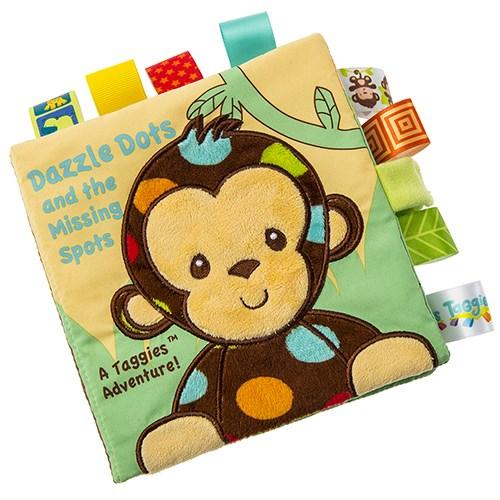 美國【Mary Meyer】標籤布書-點點猴