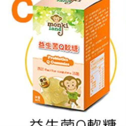 monkiland 機能Q軟糖特惠組(口味任選5瓶)